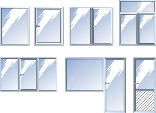 образцы пластиковых окон фото